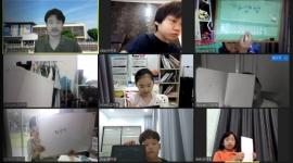온라인 수업 모습(2학년)